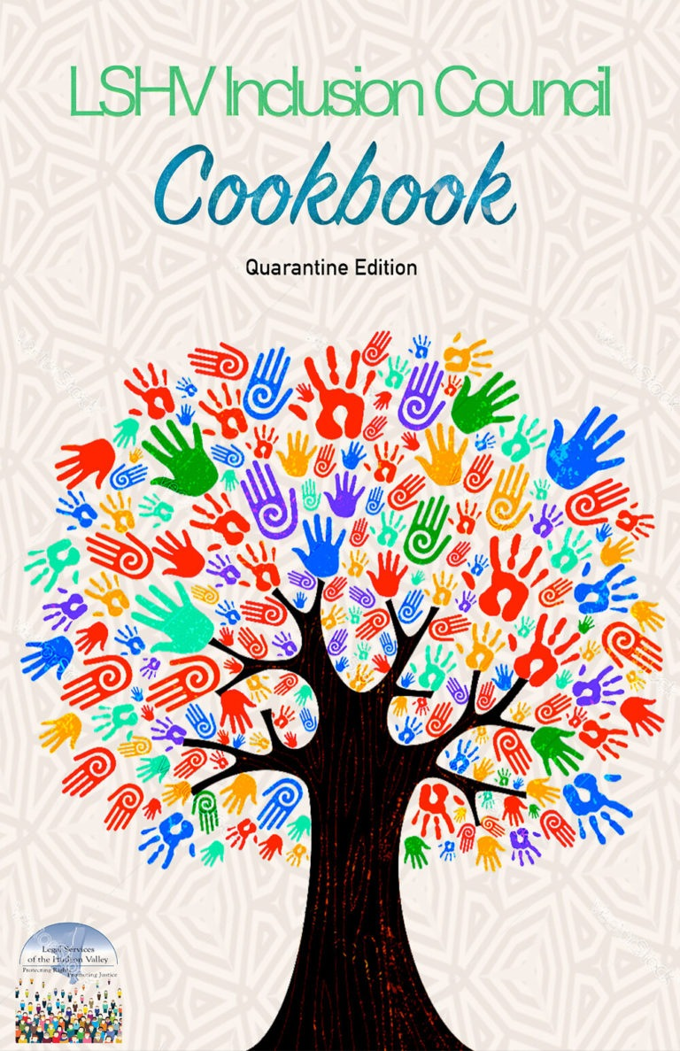 The Legal Services of the Hudson Valley's Diversity, Equity and Inclusion cookbook