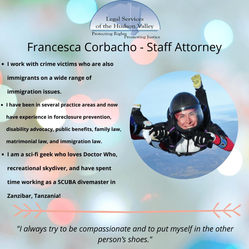 Francesca Skydiving